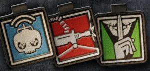 Набор значков подразделения