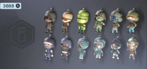 DEFENDER CHIBI CHARMS