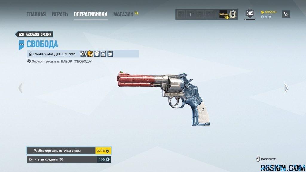 LIBERTE weapon skin