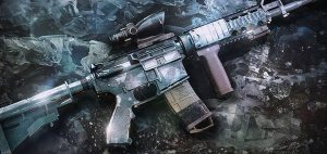 Diamond weapon skin