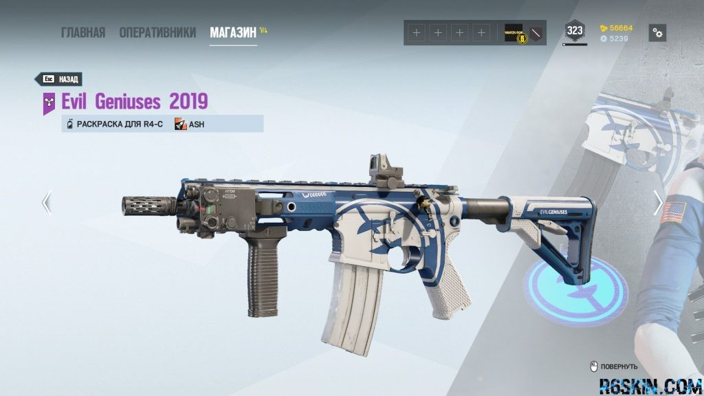 Evil Geniuses 2019 weapon skin