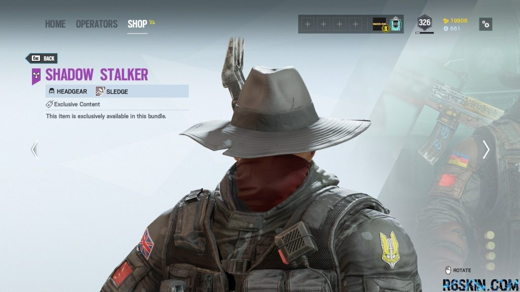 Shadow Stalker headgear