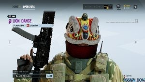 Tachanka Lion Dance Skin