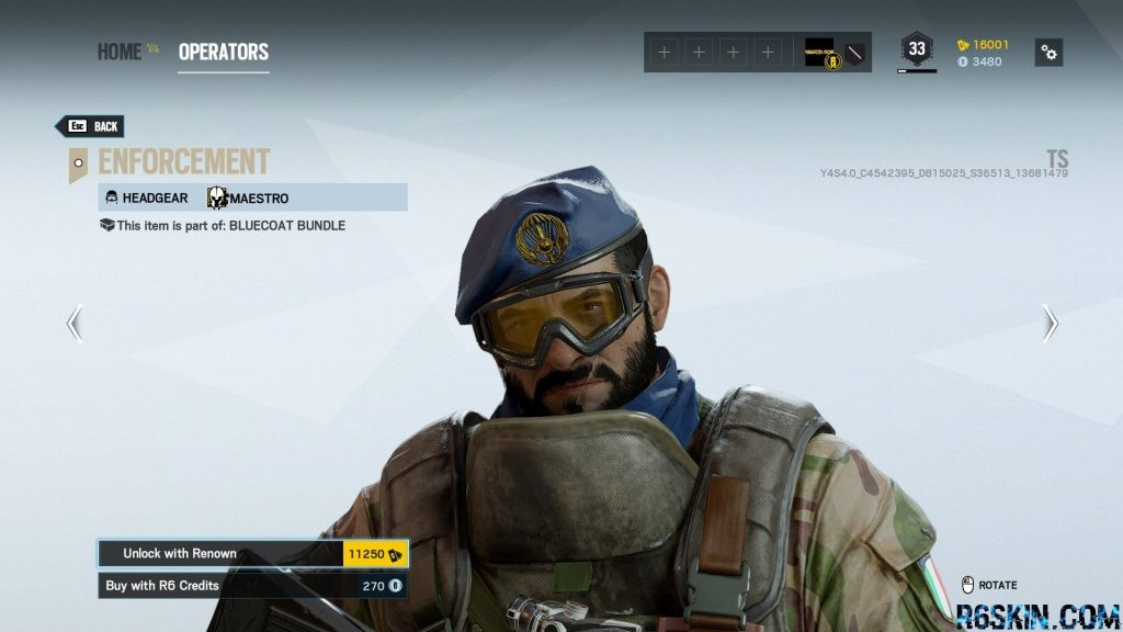 Enforcement headgear