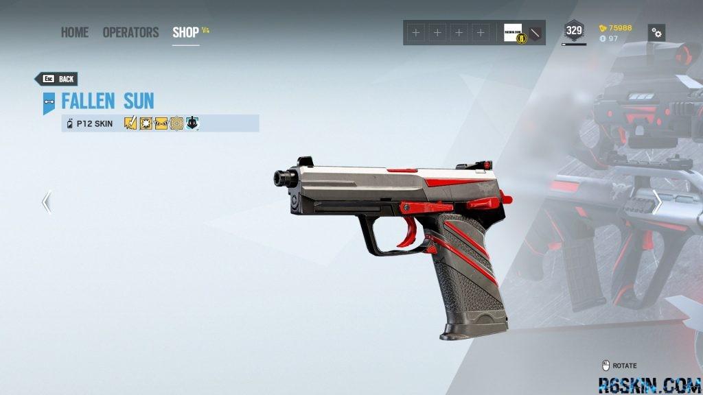 Fallen Sun weapon skin
