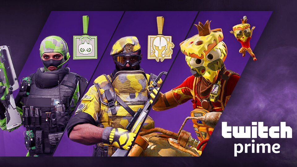EXCLUSIVE TWITCH PRIME COLLECTION PACKS