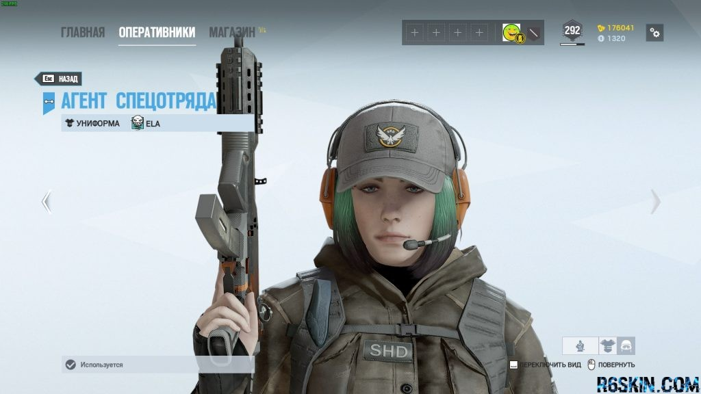 Division Agent Headgear