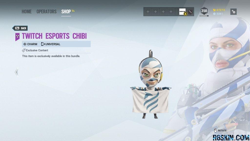 Twitch Esports Chibi charm