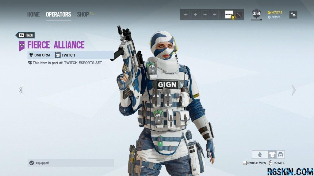 Fierce Alliance uniform