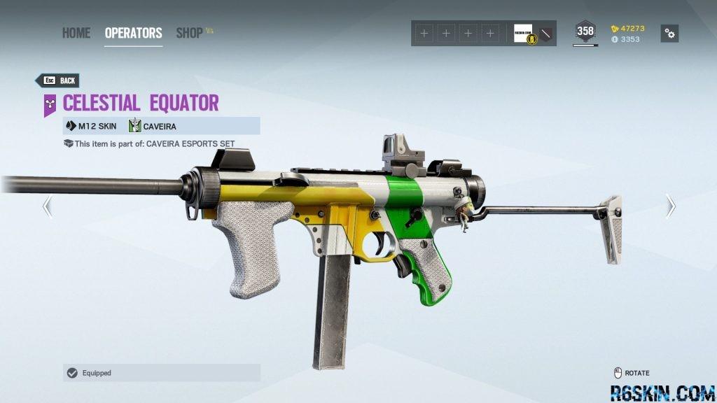 Celestial Equator weapon skin