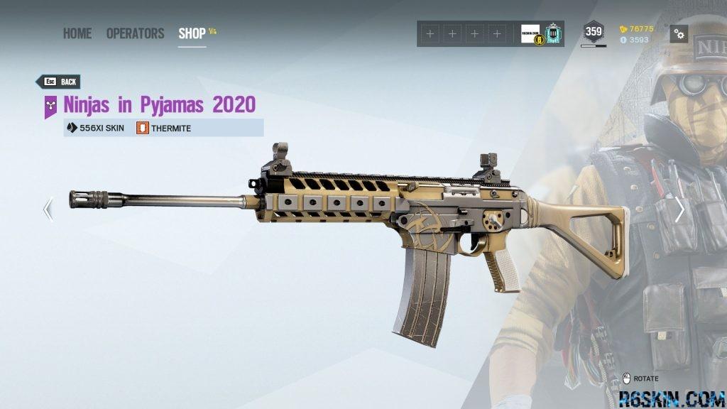 Ninjas in Pyjamas 2020 weapon skin