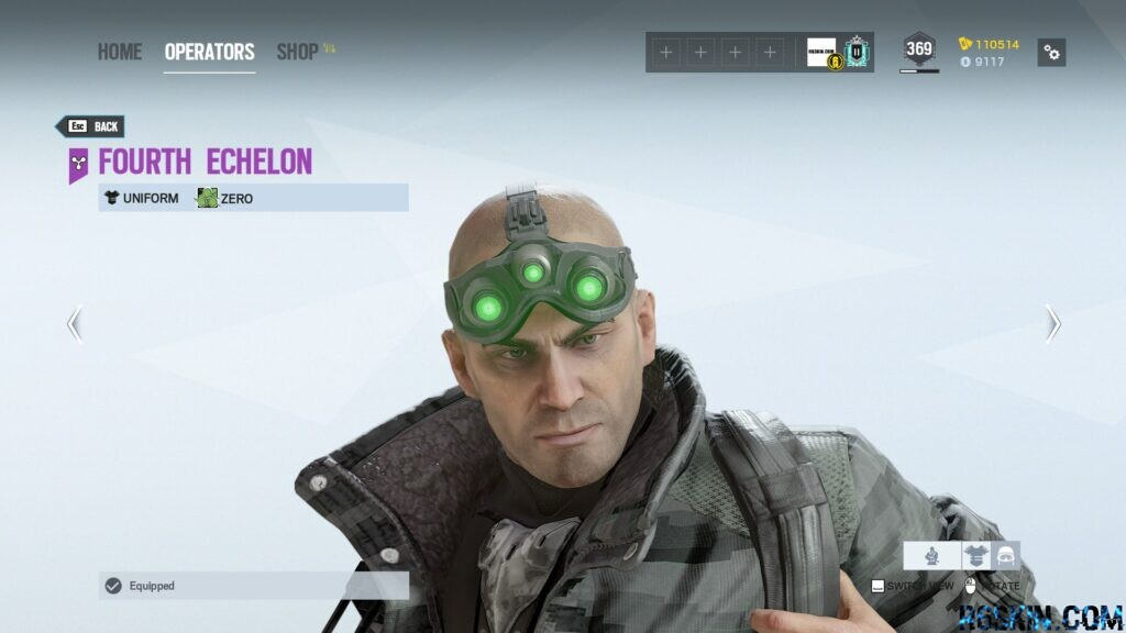 Fourht Echelon headgear