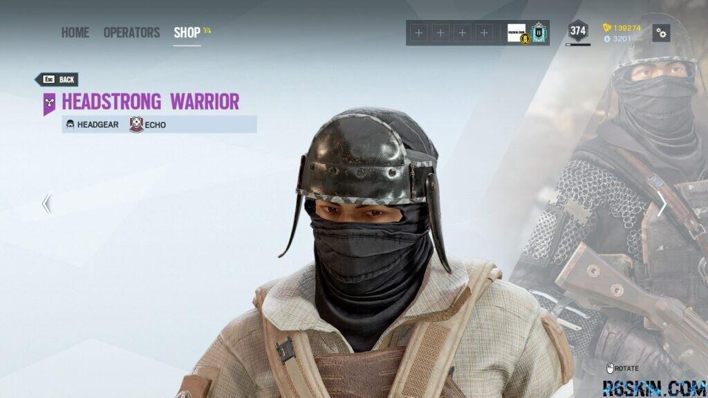 Headstrong Warrior headgear