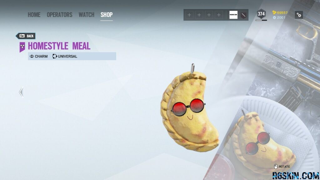 Homestyle Meal charm