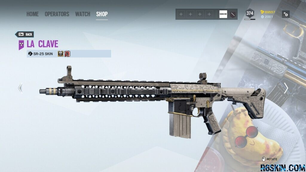 La Clave weapon skin